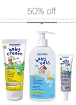 Baby Cream & Baby Gums Gel for happy babies