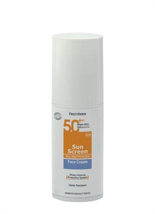 SUN SCREEN FACE CREAM SPF 50+