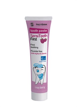 Sensiteeth Baby Amp Toddler First Toothpaste Frezyderm