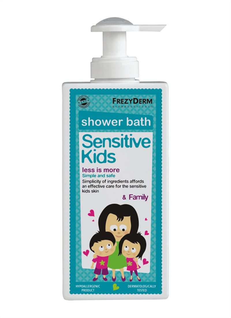 SENSITIVE KIDS SHOWER BATH
